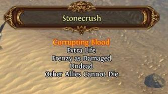 path of exile tips and tricks corrupting blood nemesis