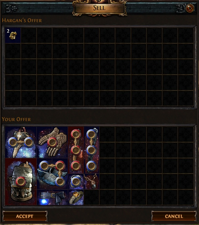 path of exile tips and tricks exalted shard recipe