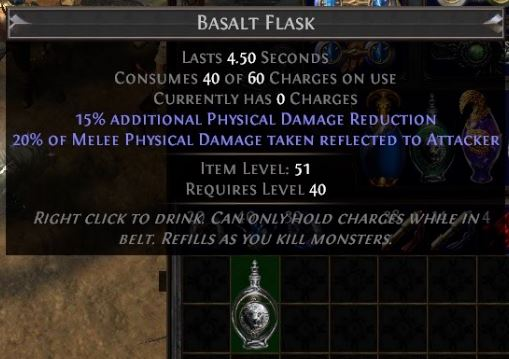 path of exile tips and tricks flask item level