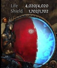 path of exile tips and tricks hybrid build health globe