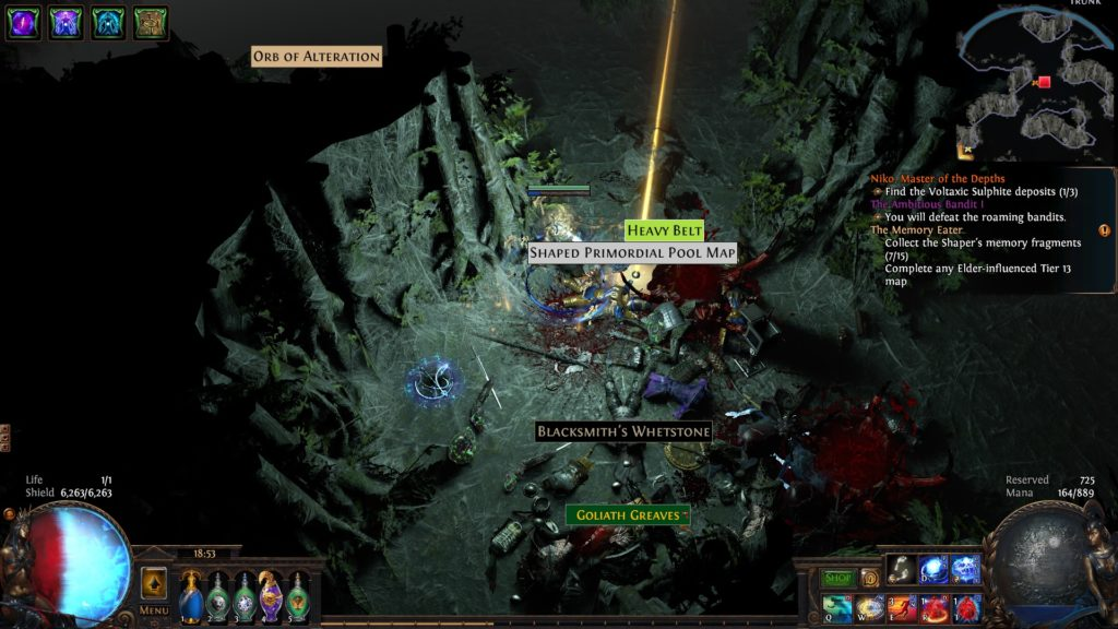 path of exile tips and tricks neversink's loot filter in action