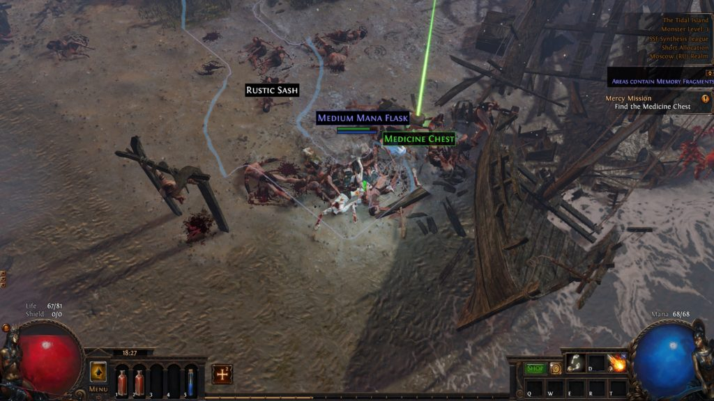 path of exile tips and tricks medicine chest