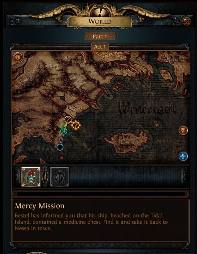 path of exile tips and tricks mercy mission