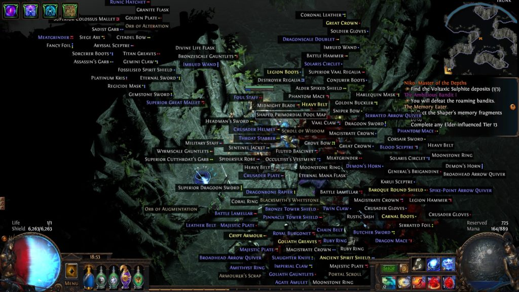 path of exile tips and tricks no loot filter