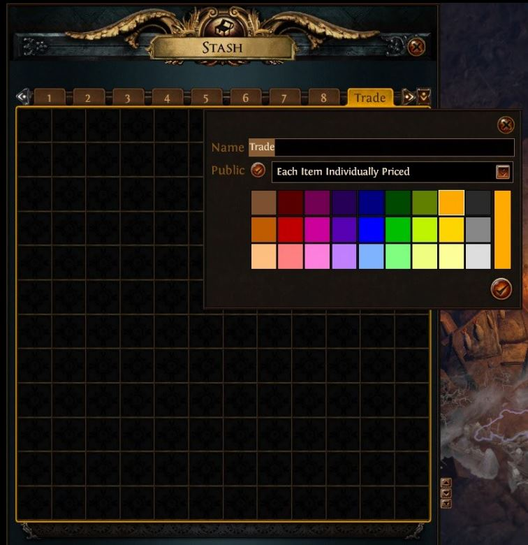 path of exile tips and tricks premium stash tab