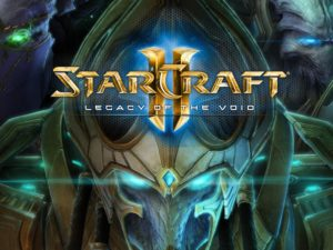 StarCraft II legacy of the void top most popular esports games