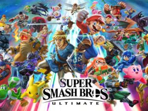 Super Smash Bros. Ultimate top most popular esports games