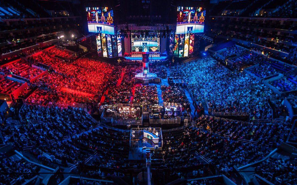 esports-venue-league-of-legends are esports real sports