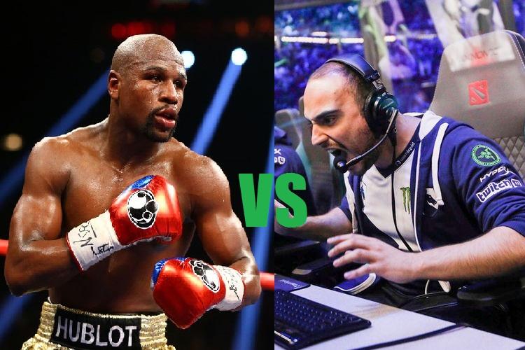 floyd-mayweather-vs-kuroky-earnings are esports real sports