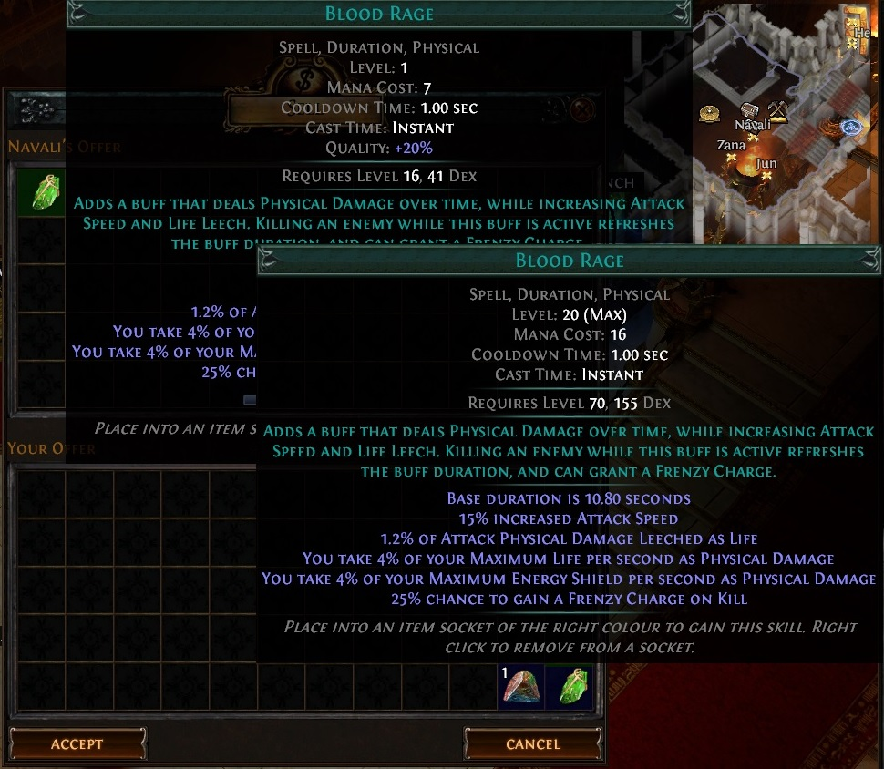 Gem Quality Vendor Recipe Result Path of Exile