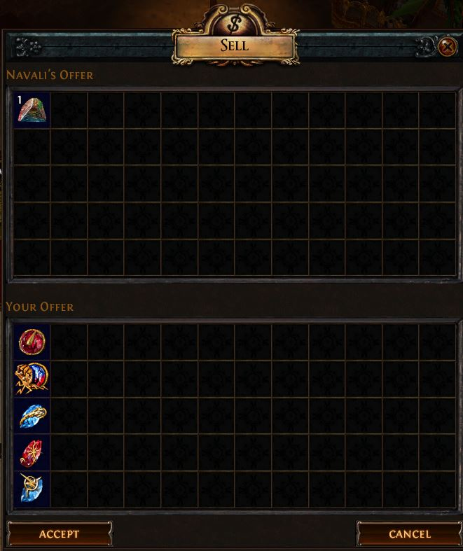 Gemcutter's Prism Vendor Recipe 1