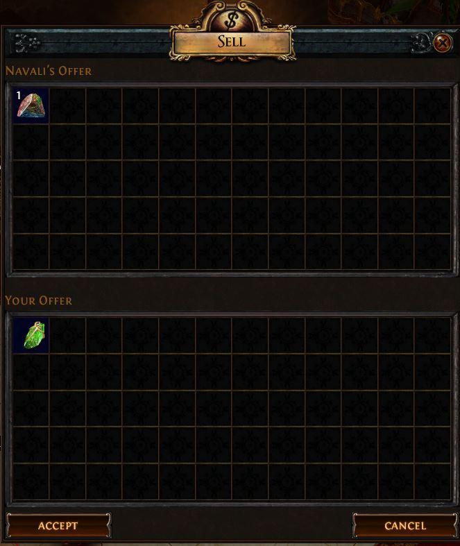 Gemcutter's Prism Vendor Recipe 2