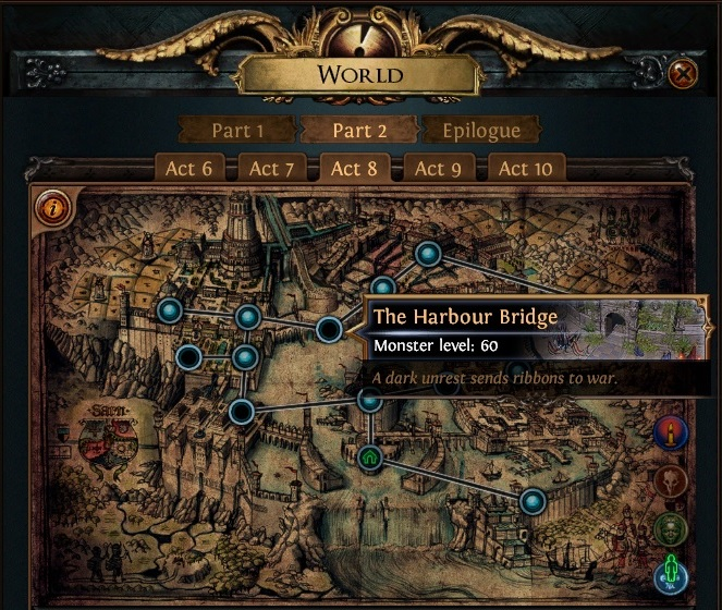 The Harbour Bridge PoE Start Collecting Chaos Recipe