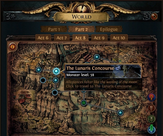 The Lunaris Concourse PoE Start Collecting Chaos Recipe