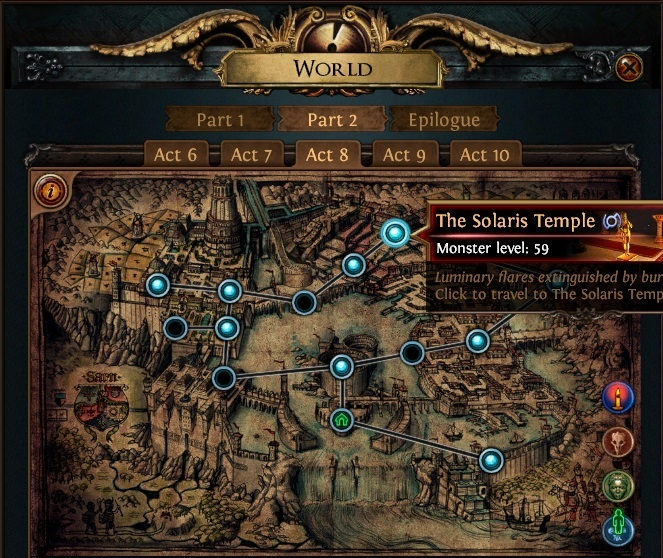 The Solaris Temple PoE Start Collecting Chaos Recipe
