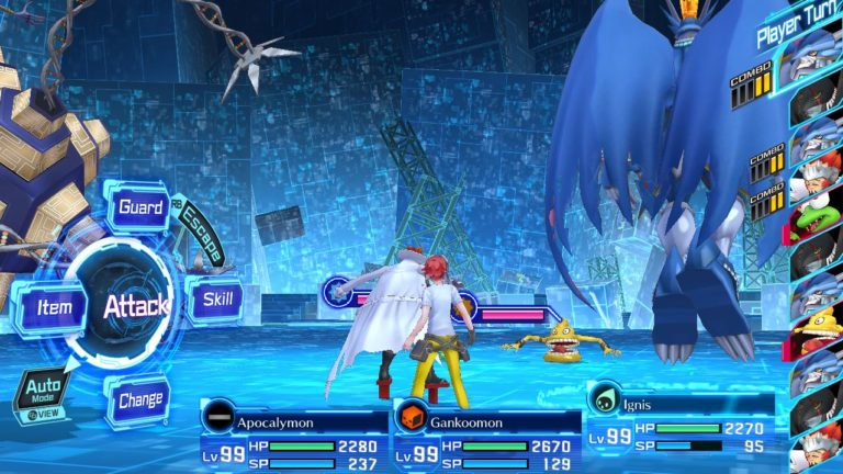Digimon Story Cyber Sleuth Complete Edition Review Battle