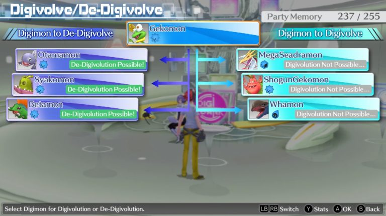 Digimon Story Cyber Sleuth Complete Edition Review Digivolution Chart