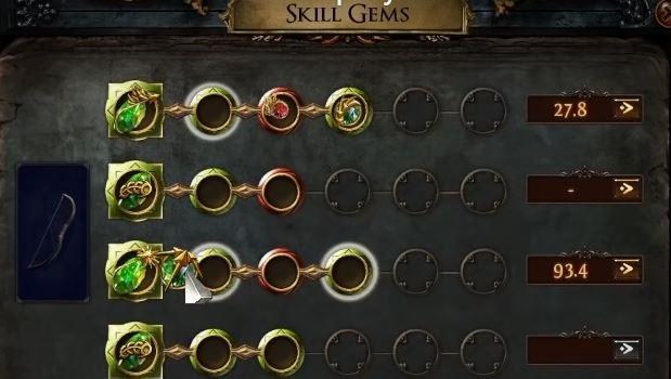 PoE 2 skill gem system 2